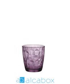 vaso diamond agua purple 49 cl